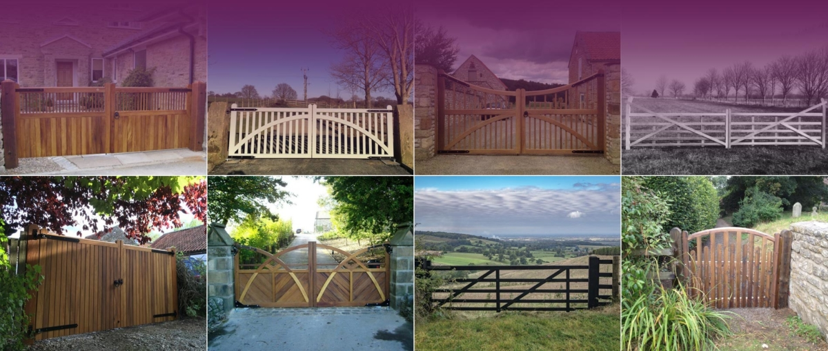 Handmade Gates by CT Lund