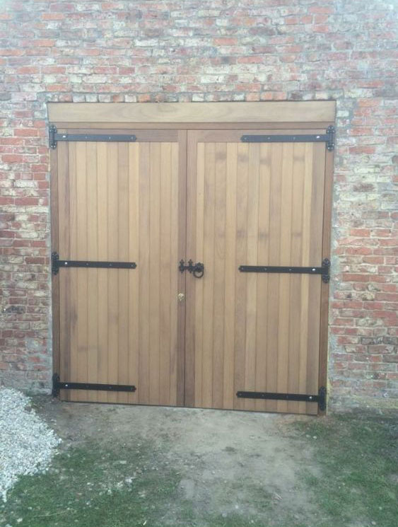 Handmade Garage Doors by Lund Gates