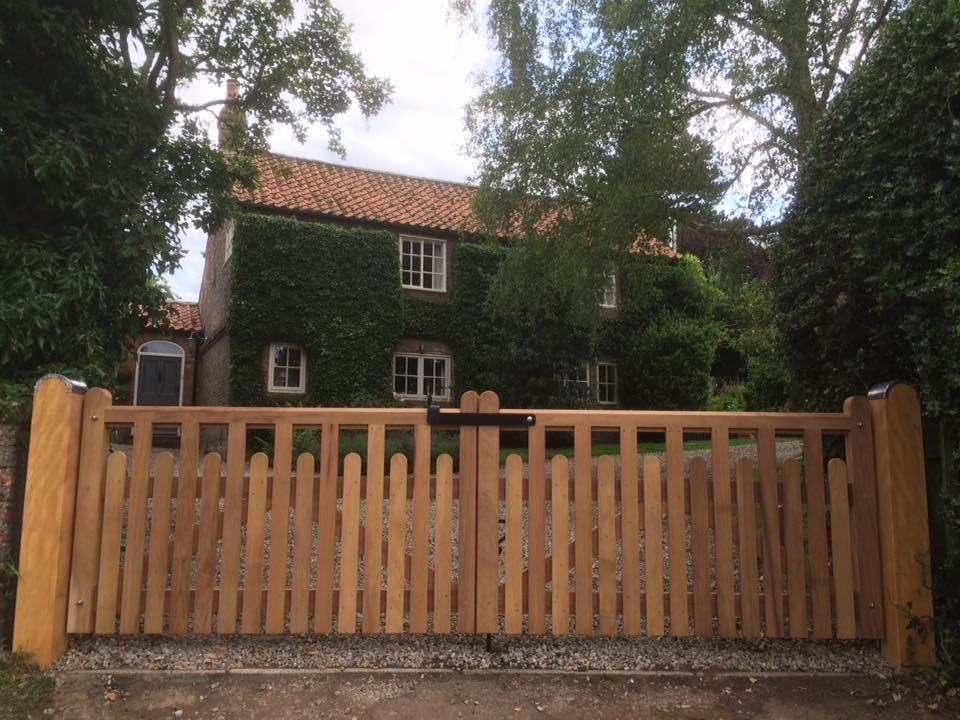 The Wharfe Garden Gate