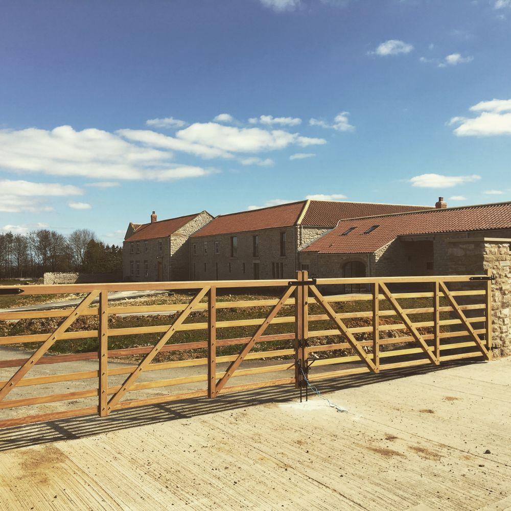 Hardwood Field Gates